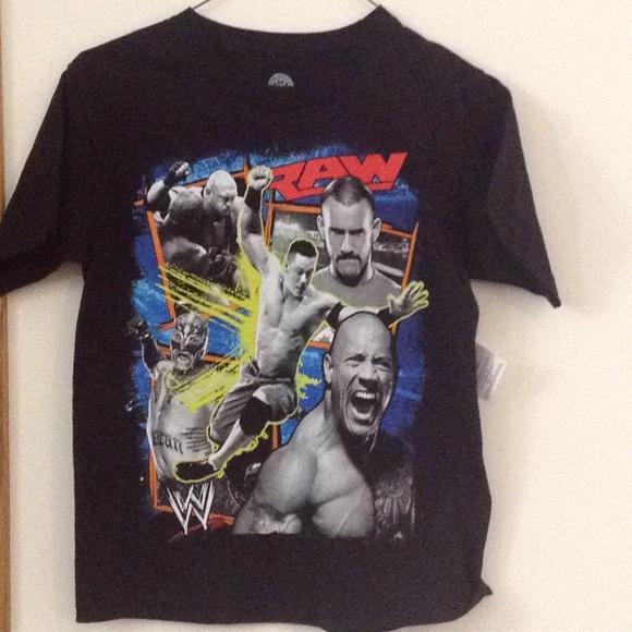 8095761e8 WWE Shirts & Tops | Raw Boys Tshirt | Poshmark